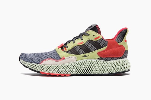 "adidas ZX 4000 ""Grey/Yellow/Red"""