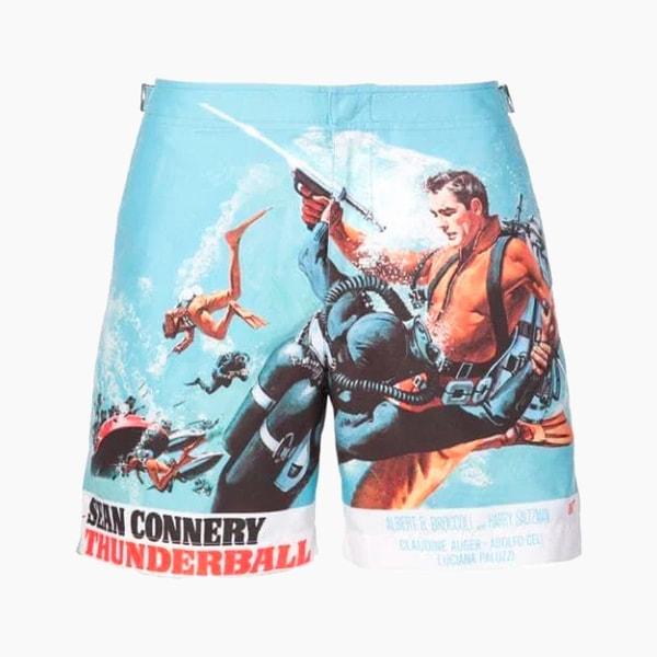 Orlebar Brown x 007 Bulldog Thunderball Swim Trunks