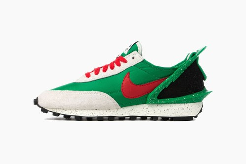 "UNDERCOVER x Nike Daybreak Sneaker Collab ""Lucky Green"" and Black"