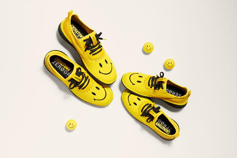 Chinatown Market Cole Haan Generation ZERØGRAND smiley collaboration shoes june 6 may 30 2019 release date info colorway buy