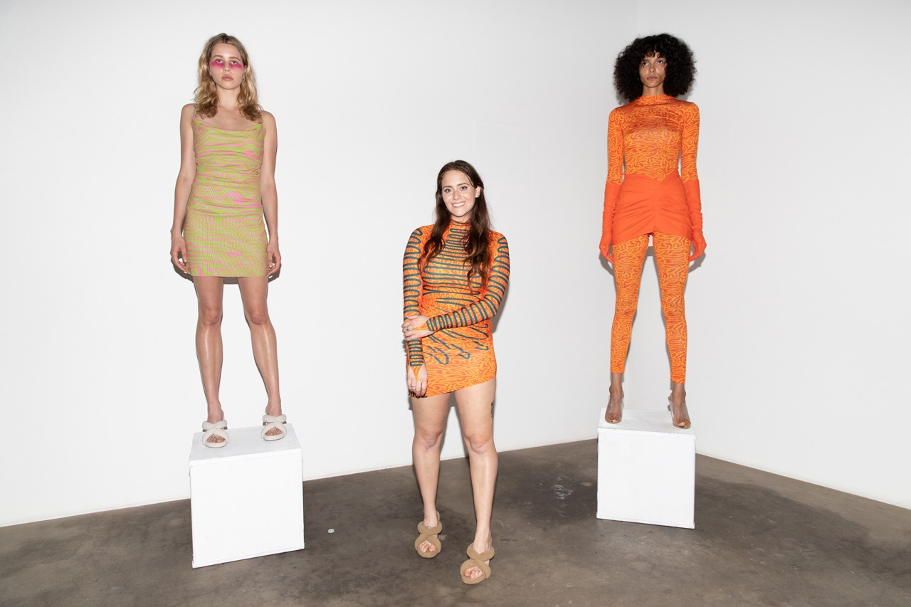 Maisie Wilen Pre-Spring 2020, Kanye West-Funded event recap show schloss los angeles young lord tremaine emory yeezy womenswear incubator