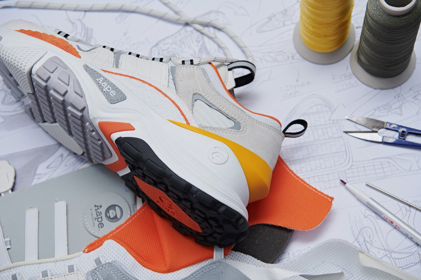 7c3a2bdc89 After introducing its inaugural footwear lineup for its sport-oriented  AAPE+ division, AAPE by A Bathing Ape has also decided to expand into the  realm of ...