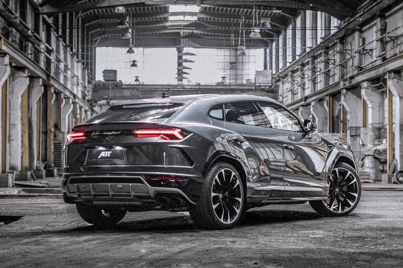 ABT Sportsline Lamborghini Urus SUV Power Upgrade Luxury Sports Utility Vehicle Supercar 710 BHP 3.4 Seconds 0-60 MPH V8 bi-turbo engine 189 MHP 910 Nm Torque Figures Speed