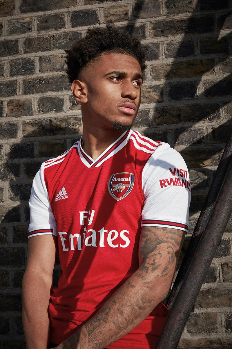 newest 49472 14fac Arsenal 2019/20 Home Kit by adidas Official Look | HYPEBEAST