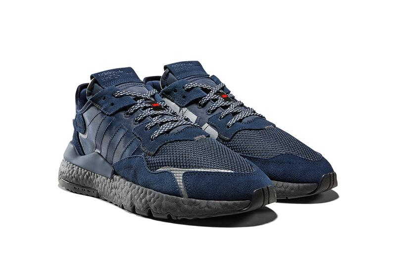 adidas Originals Nite Jogger 3M Scotchlite Reflective Material Pack BOOST Three Stripes Trefoil Logo Oversized Release Information Sneaker Drop Date Cop