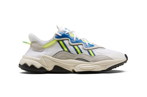 """The adidas Originals Ozweego Returns, Tinged in """"Solar Yellow/Blue"""""""