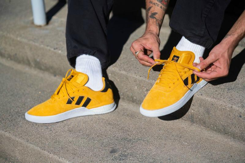 adidas Skateboarding Rider Series fall winter 2019 fw19 Line collection Miles Silvas 3ST004 3st 004 shoe yellow golden sneaker release date info buy price images pics pictures