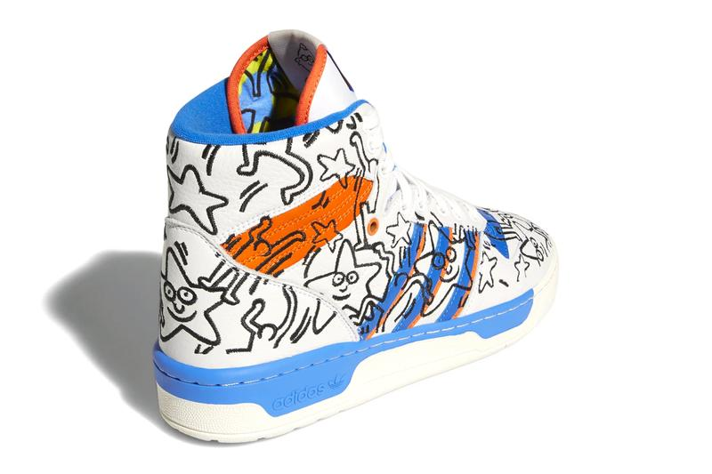adidas Keith Haring Collaborative Capsule Info nizza rivalry hi stan smith sneakers graffiti pop art shoes