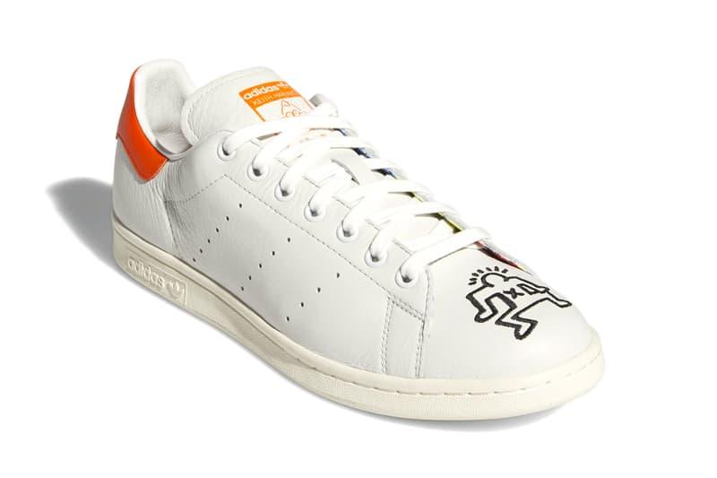 97c3719a adidas Keith Haring Collaborative Capsule Info nizza rivalry hi stan smith  sneakers graffiti pop art shoes