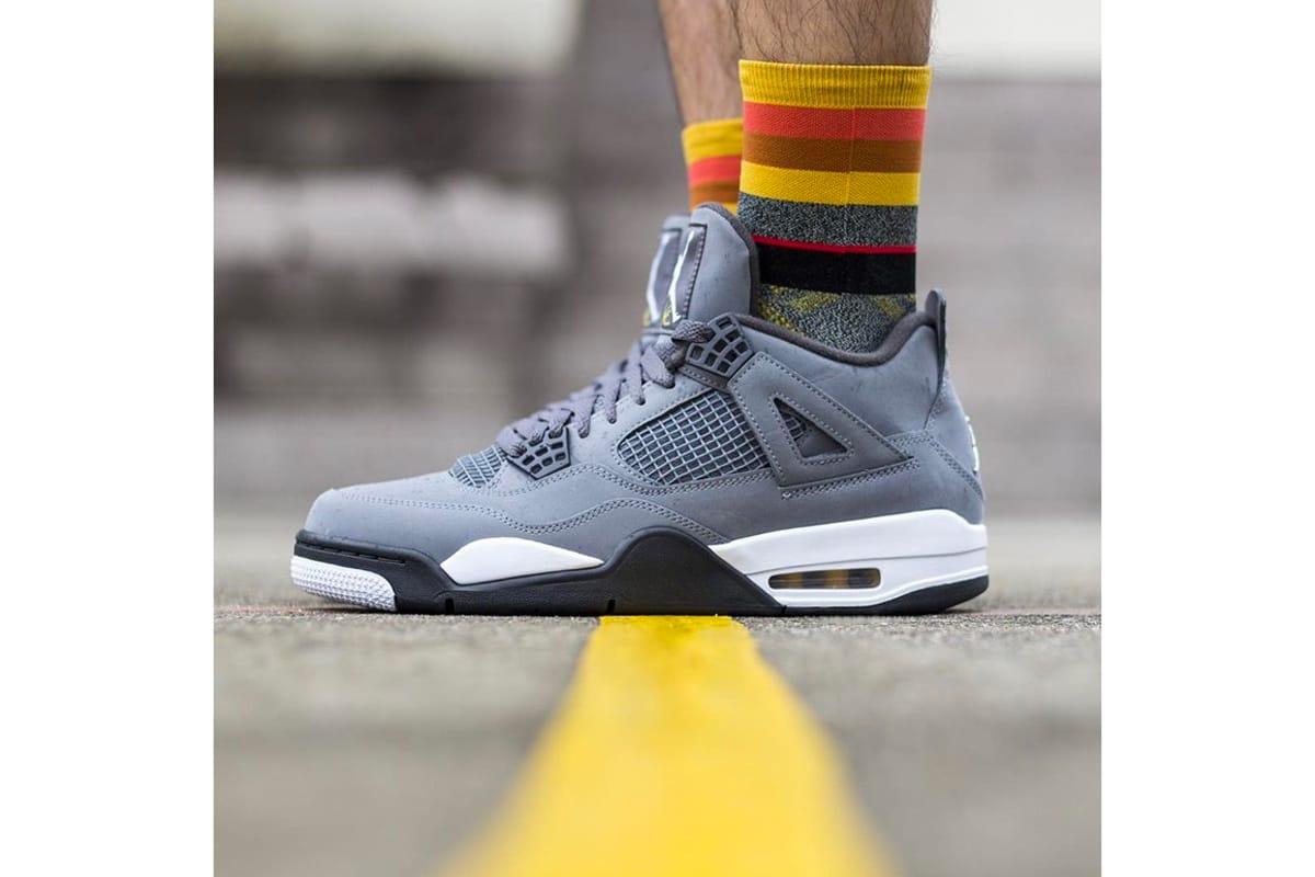 jordan retro 4 cool grey outfit