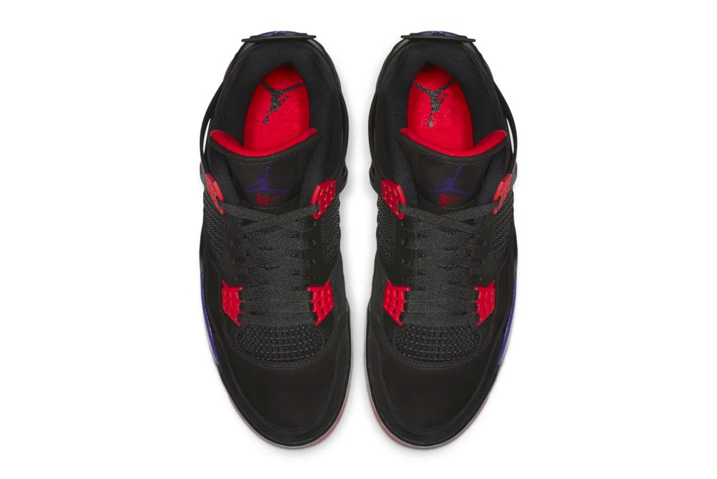 "エアジョーダン4 ""ラプターズ"" ドレイク Air Jordan 4 toronto Raptors Release Info AQ3816-056 drake black court purple national basketball association nba"