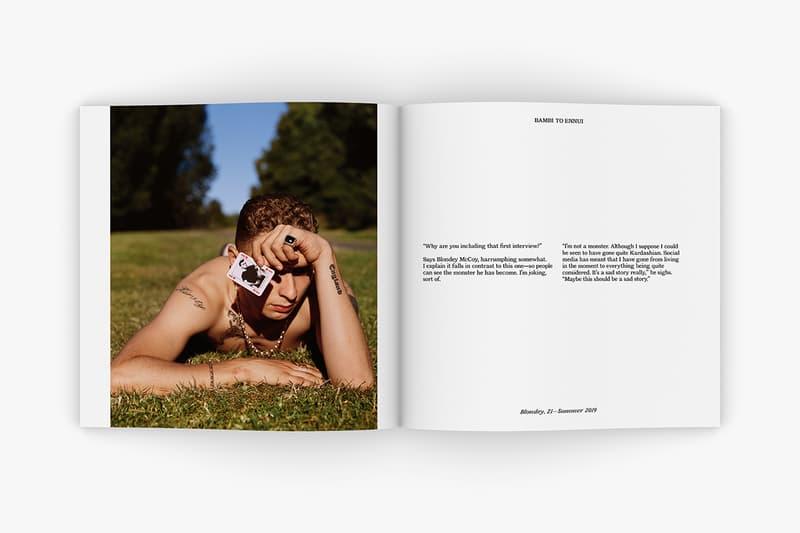 Alasdair Mclellan Blondey 15 21 Book Release Hypebeast