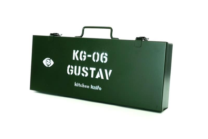 Amenoma Gundam Gustav KG 06 Series Kitchen Knives