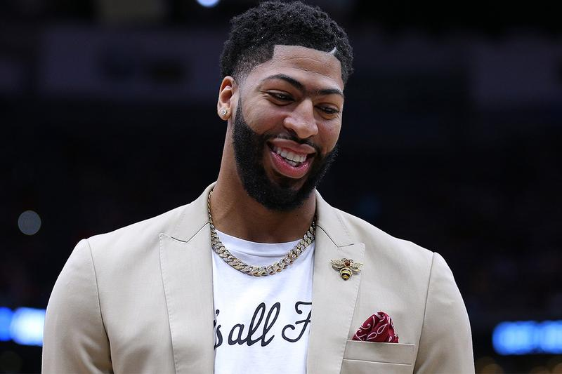 Anthony Davis Los Angeles Lakers 2019 Trade national basketball association nba lebron james new orleans pelicans Lonzo Ball Brandon Ingram Josh Hart