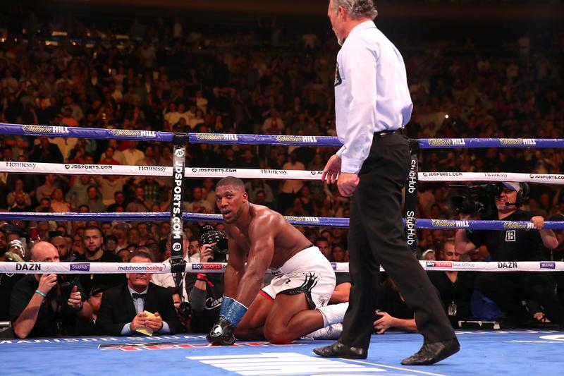 Anthony Joshua Andy Ruiz Jr. Immediate Rematch Clause Triggered unified heavyweight title Boxing