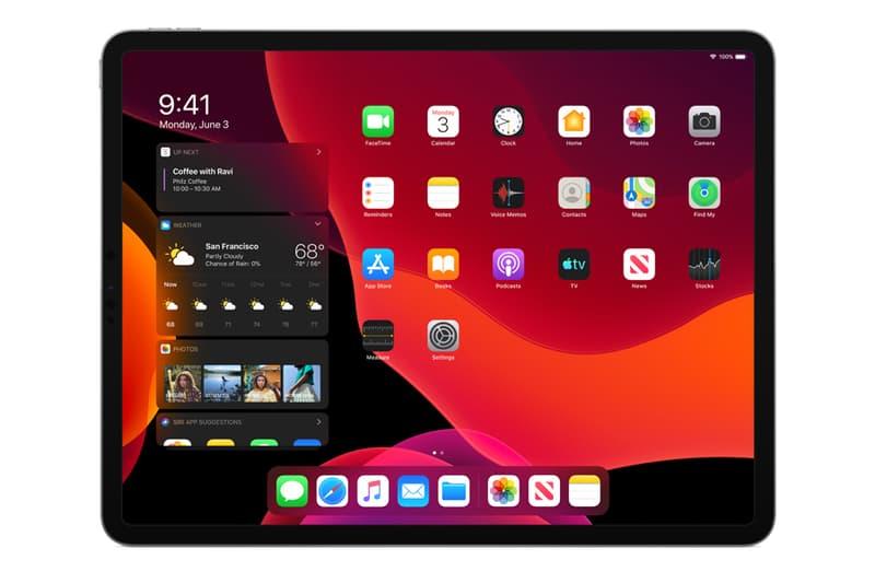 Apple iPadOS WWDC 2019 Tim Cook iPad iPhone X XR XS XS Max dark mode safari today view