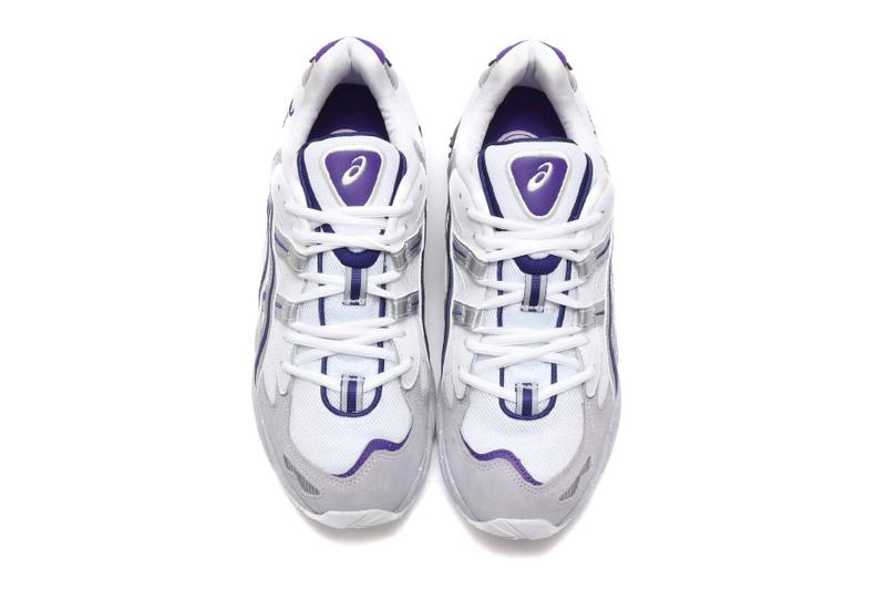 ASICS GEL-KAYANO 5 OG Gray Silver White Purple Release