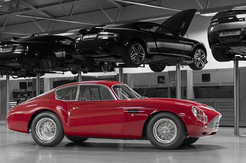 Aston Martin DB4 GT Zagato Continuation Full Release Official Look 1962 Vintage Sportscar £6M GBP 4.7litre 390 BHP Reworked Special Edition Limited Rare