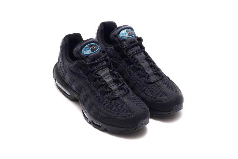 buy popular 334b4 1e462 atmos x Nike Air Max 95 Exclusive Black Colorway | HYPEBEAST