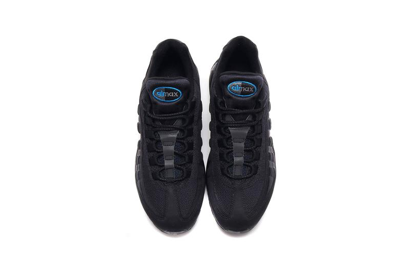 atmos x Nike Air Max 95 Exclusive Black Colorway collaboration release date info buy june 26 2019 imperial blue