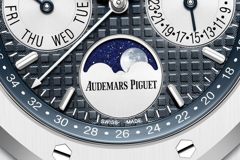 Audemars Piguet White Ceramic Royal Oak Perpetual Calendar