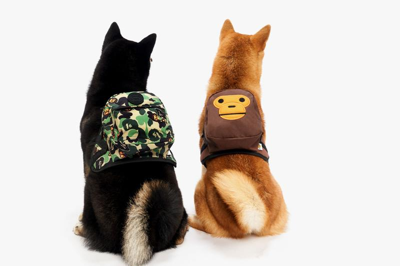 Baby Milo Pet Collection Spring/Summer 2019 lookbooks dogs bape a bathing ape bowls leashes plush toys ss19 hong kong it store