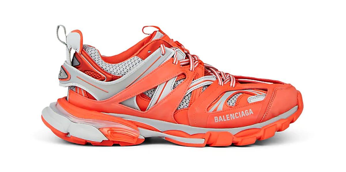 Balenciaga Track Sneaker Orange/Grey