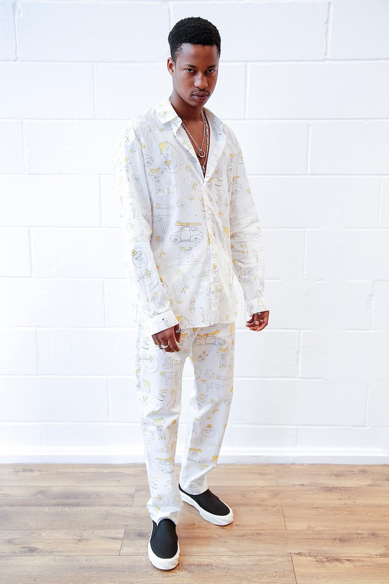 Band of Outsiders Spring/Summer 2020 SS20 Collection Lookbook Age Official Footwear Collaboration Korean Brand London Based Label Menswear This is Amit Greenberg