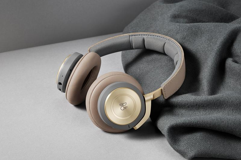 Bang & Olufsen H9 Headphones Google Voice Assistant Equipped Danish Design Audio Noise Cancelling Increased Battery Life Playback Matte Black Argilla Bright