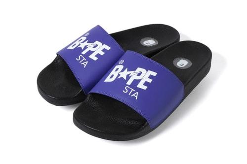 BAPE Drops Colorful BAPESTA Slides for the Summer Season