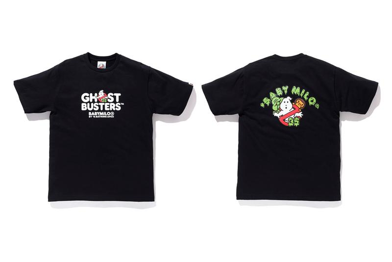 Ghostbusters x BAPE 35th Anniversary Capsule a bathing ape slimer lookbooks killy baby milo