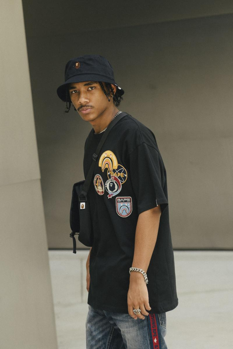 "BAPE ""THE RETURN OF ICARUS"" SS20 Collection a bathing ape lookbooks denim tees t-shirts patch works patches"