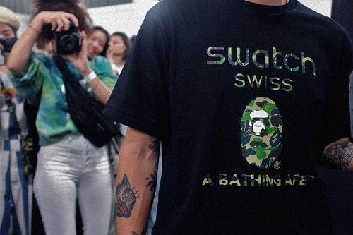 BAPE x Swatch: Inside the Collaborative Pre-Release Event