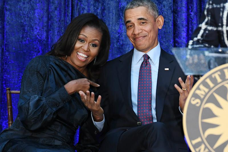 barack obama michelle sign spotify podcast deal show 2019 june terms contract higher ground audio terms agreement news shows program programs