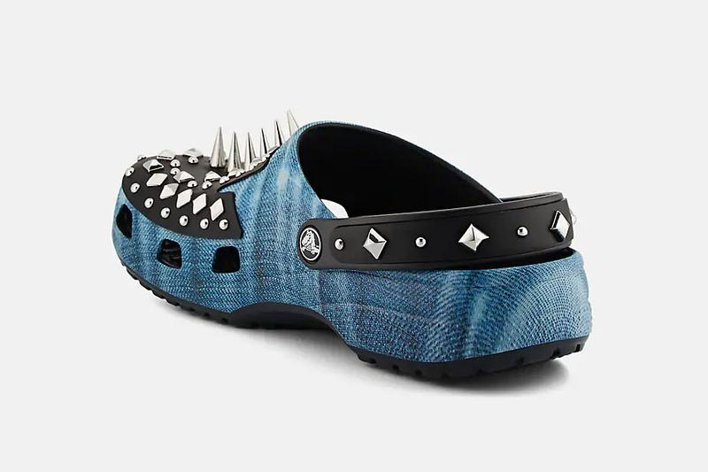 Barneys x Crocs Punk Studded Rubber Clogs