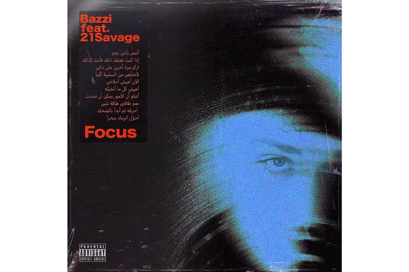 Bazzi 21 Savage Focus Single Stream New Track Song