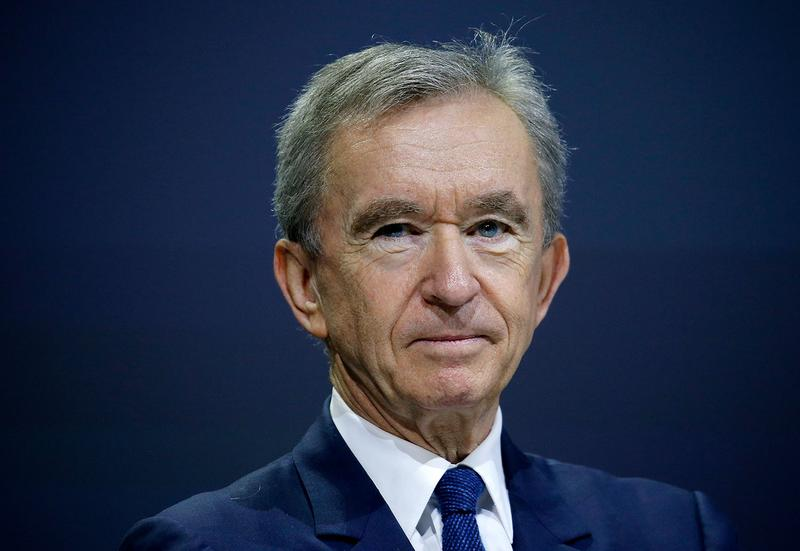 Bernard Arnault Now Worth Over 100 Billion Dollars wealth LVMH Louis Vuitton France Luxury House Fashion hennessy