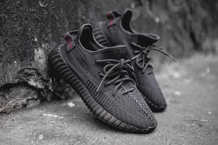 Kanye West & adidas Drop a Trio of All-Black YEEZYs in This Week's Footwear Drops