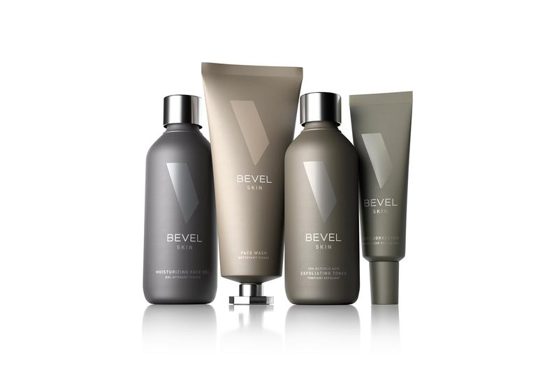 Bevel Introduces Skincare Line For Men of Color Moisturizing Face Gel, Spot Corrector 10% Glycolic Acid Exfoliating Toner Face Wash black latin asian hyperpigmentation, inflammation, dullness and uneven skin tone