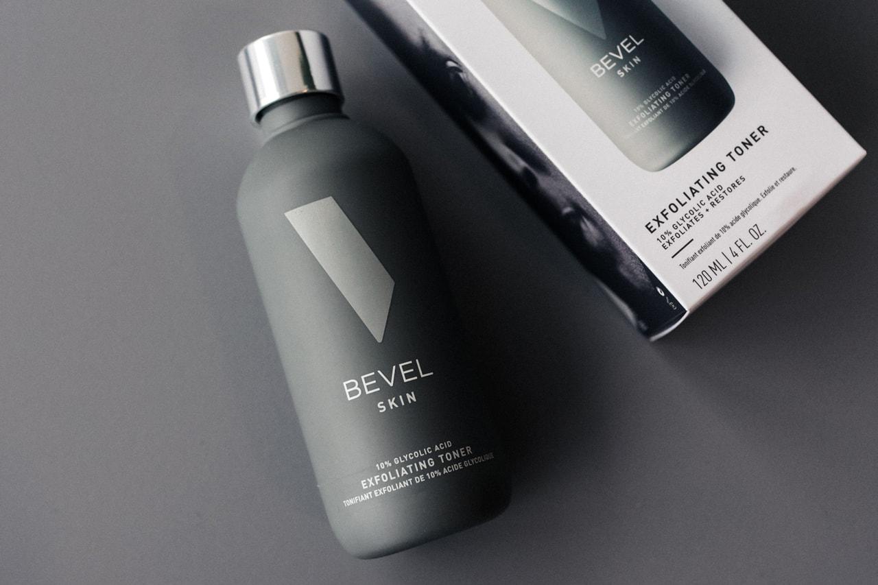 Bevel Introduces Skincare Line For Men of Color Moisturizing Face Gel, Spot Corrector 10% Glycolic Acid Exfoliating Toner Face Wash black latin asian hyperpigmentation, inflammation, dullness and uneven skin tone