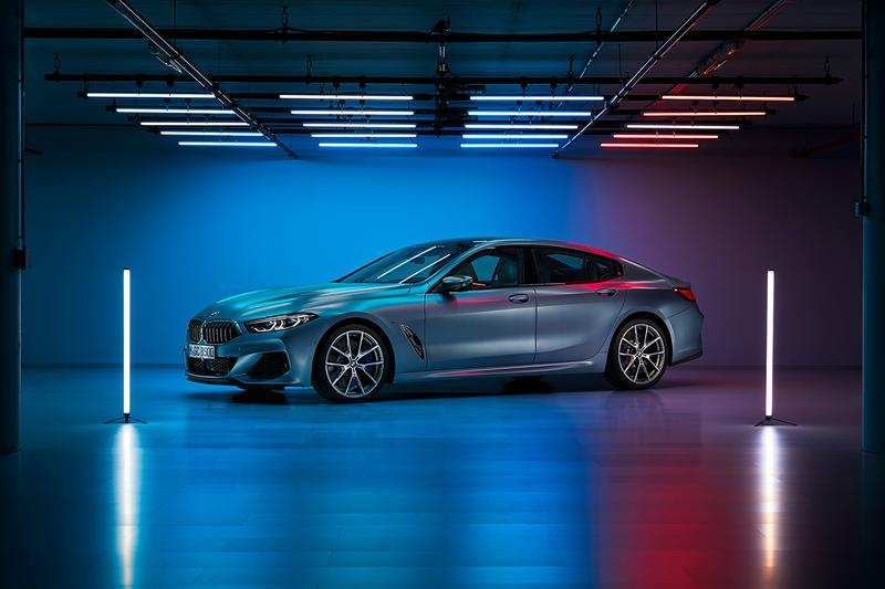 BMW 8 Series Gran Coupe M850i 4 Door Car German Automotive Design Range Leading Luxury £100,000 GBP 526bhp twin-turbo engine 4WD petrol V8 0-60MPH 3.9 seconds