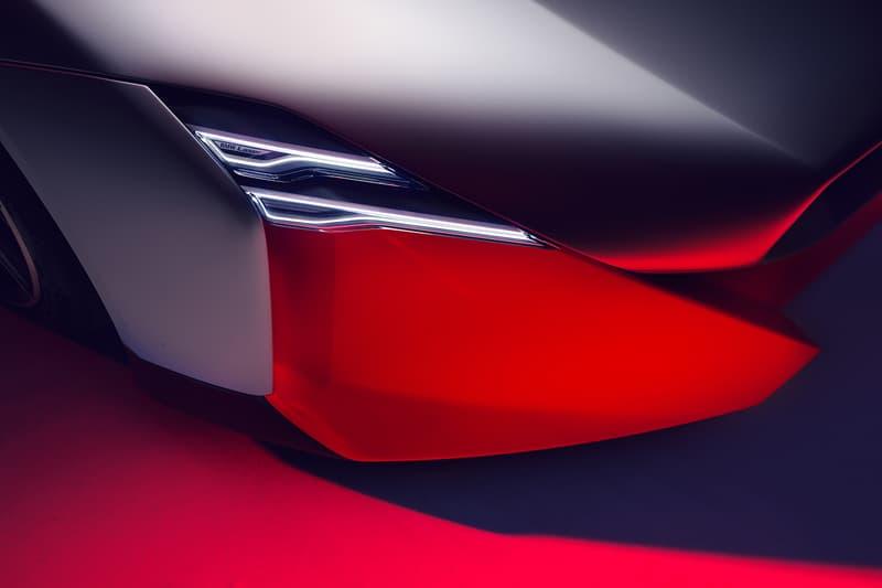 BMW Vision M Next Concept Car Supercar Hypercar Electric 600 BHP Mid Engine German Automotive Design Kidney Grill 0-60 MPH 3 Seconds 186 MPH