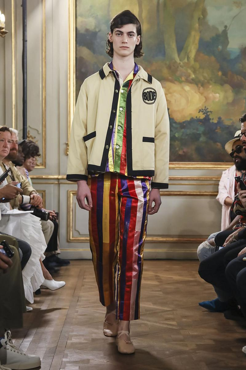 New York Mens Fashion Week 2020 Bode Shows SS20 Mens Collection at Paris Fashion Week | HYPEBEAST