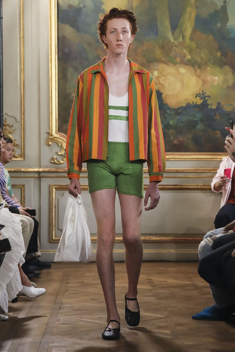Bode Menswear Spring Summer 2020 SS20 Collection Lookbook Runway Paris Fashion Week Men's Emerging Fashion Brand Emily Bode New York Tailoring