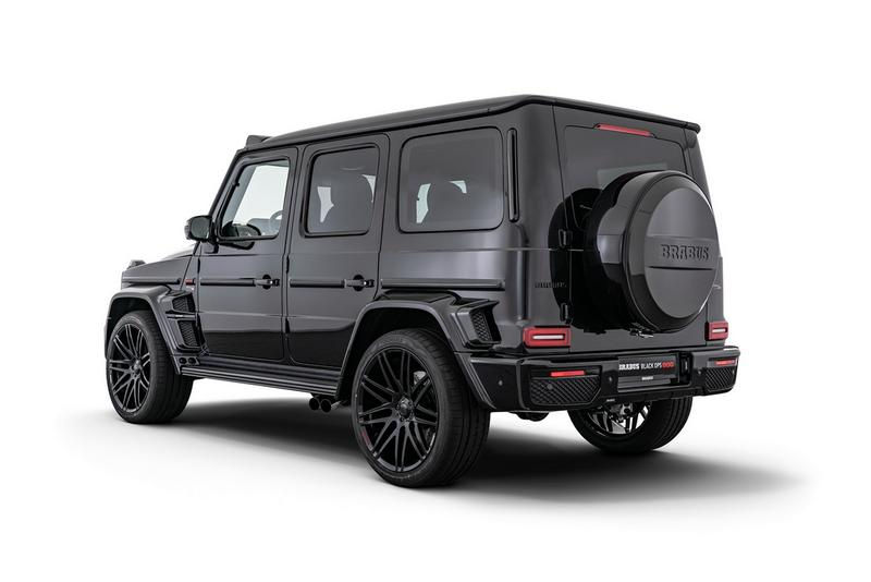 "Brabus 800 ""Black Ops"" ""Shadow"" Mercedes-Benz G 63 AMG Supercar Truck G-Wagon Official Custom Tuning Bodykit Limited Edition 1,000 Nm torque Top Marques Monaco 2019"