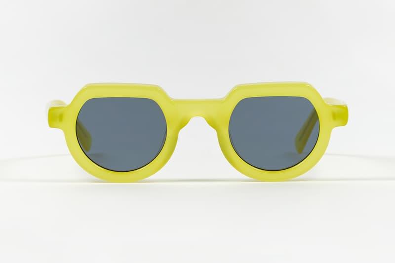 Brain Dead SS19 Eyewear Collection accessories sunglasses primitive eye Chibi Elia Tani Electric Blue Tortoise Silver Flake drop date release info price Green Black Yellow Spring/Summer acetate frames