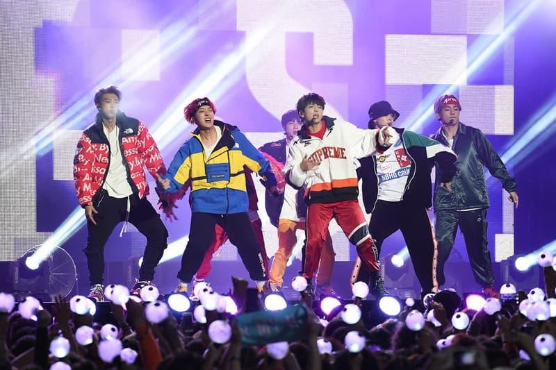 BTS Bangtan Boys K-Pop UK Wembley Stadium South Korean Music Tour 24 Song Set Jungkook Suga J-Hope V Jin Jimin RM Boy Band History Making Performance