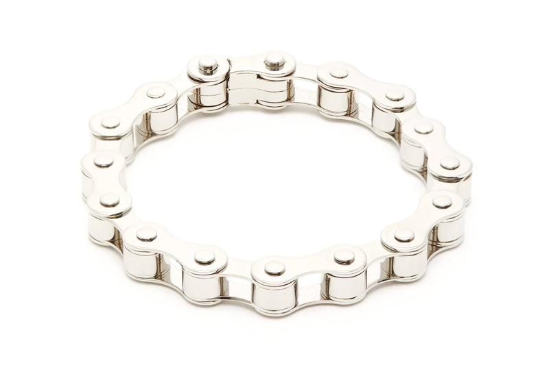 Burberry Bicycle Chain Silver-Tone Bracelet Release Pre-AW19 jewelry offering accessories matchesfashion.com buy now price release info date drop new palladium plated brass