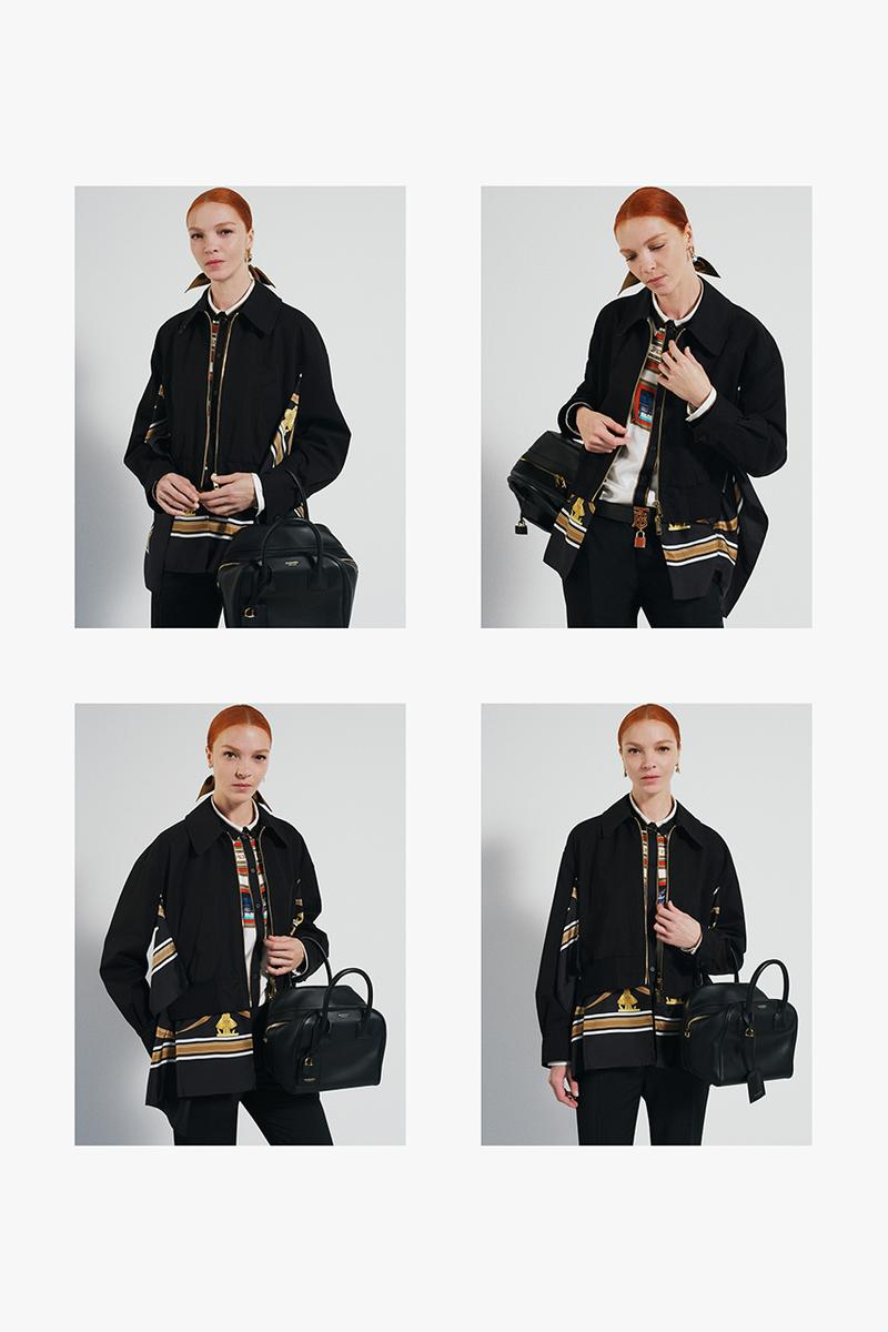 Burberry Fall/Winter 2019 FW19 Pre-Collection Campaign Lookbook Riccardo Tisci British Photographer Mark Borthwick Rianne Van Rompaey Fran Summers Mariacarla Boscono Lucas Davey Alexis Chaparro Monogram