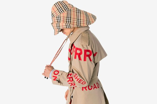 Conquer Rainy Days in Style With Burberry's Vintage Check Rain Hat